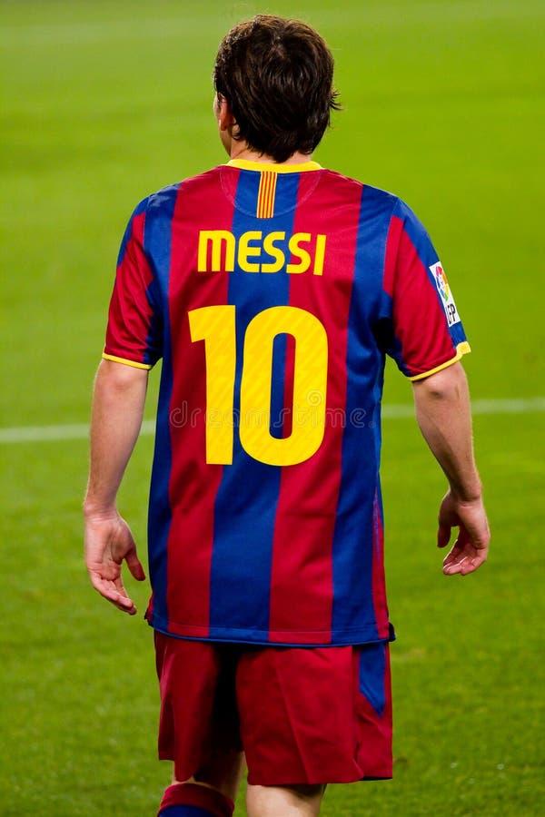 Leo Messi (FC Barcelona) fotografía de archivo libre de regalías