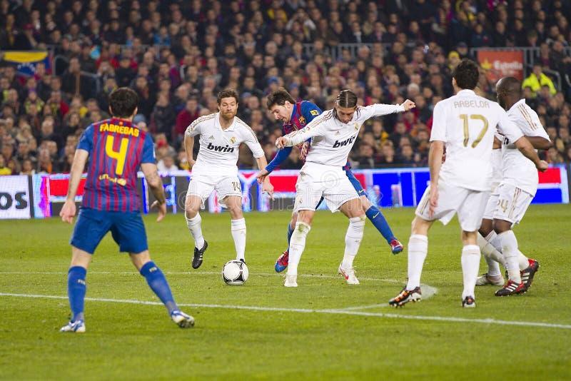 Leo Messi ruisselant photos libres de droits