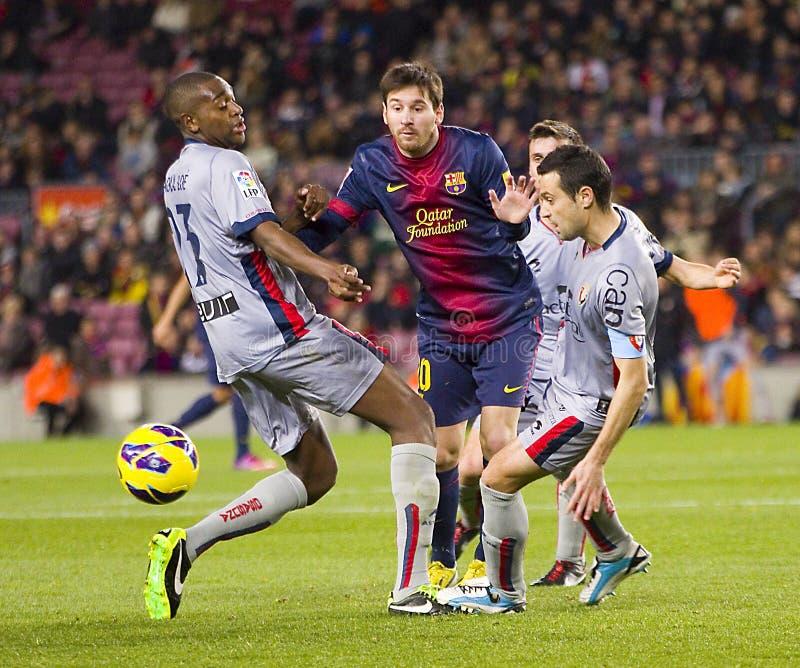 Leo Messi ruisselant images libres de droits