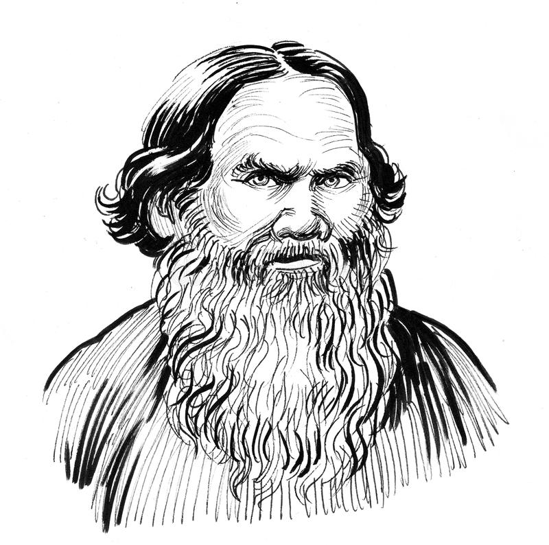 Leo Tolstoy libre illustration