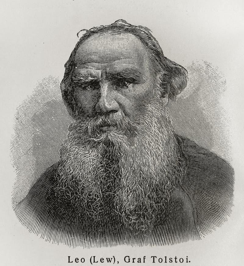 Leo Tolstoy arkivfoto