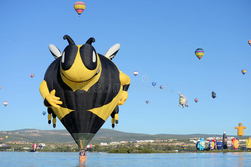 Leon Ballon Festival fotografia de stock