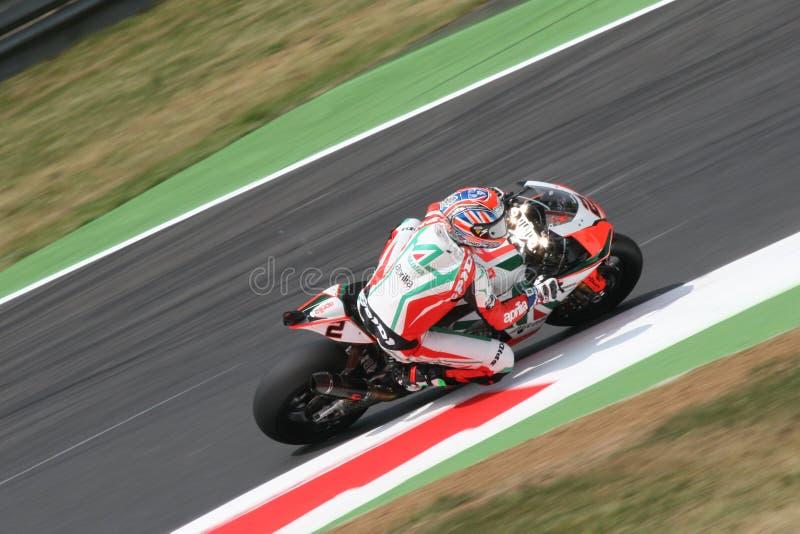 Leon camier superbike stockbilder
