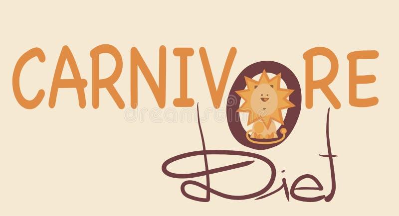 LEON CARNIVOR ilustração royalty free