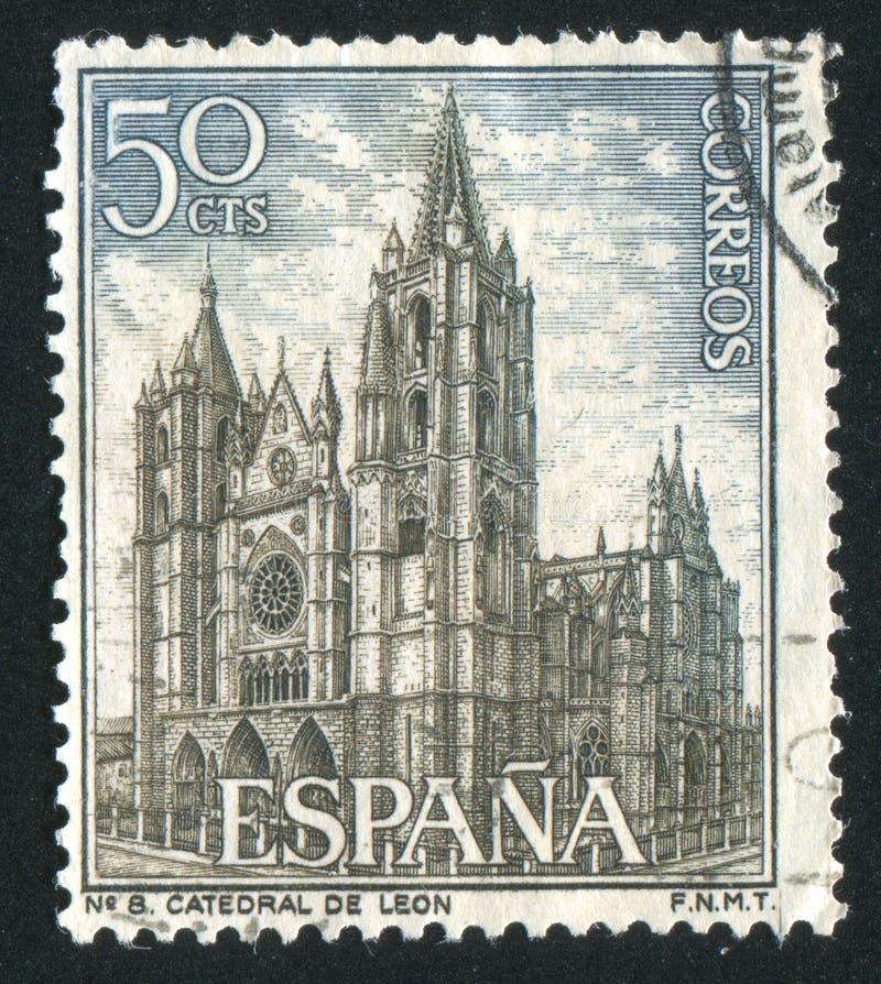 Leon Cathedral stockbild