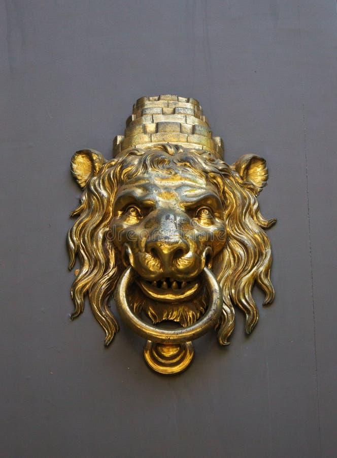 Leon Doorknob Stock Photos imagens de stock royalty free