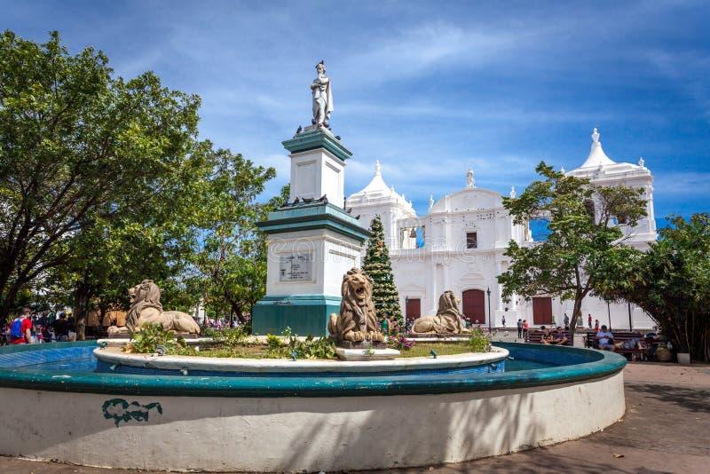 Leon, Nicaragua stock fotografie