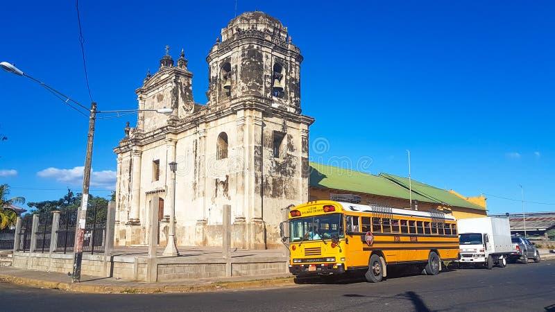 Leon, Nikaragua obraz stock