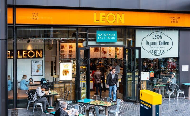 Leon Sandwich Bar royalty-vrije stock foto