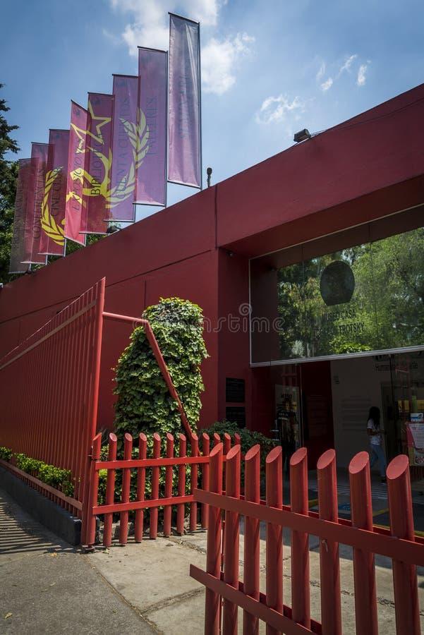 Leon Trotsky Museum, Coyoacan, Cidade do México, México imagem de stock