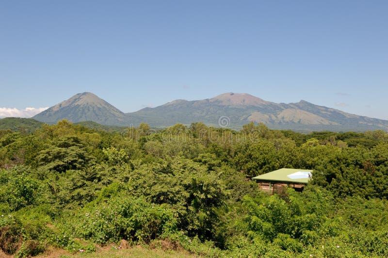 Leon Viejo ruins Nicaragua royalty free stock image