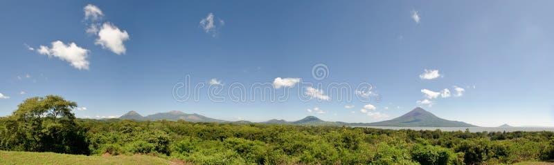 Leon Viejo szenisches Nicarague stockfotografie