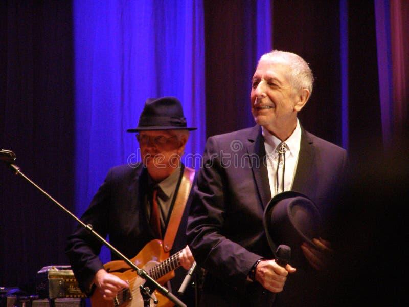 Leonard Cohen - Florence 2010 royalty free stock images