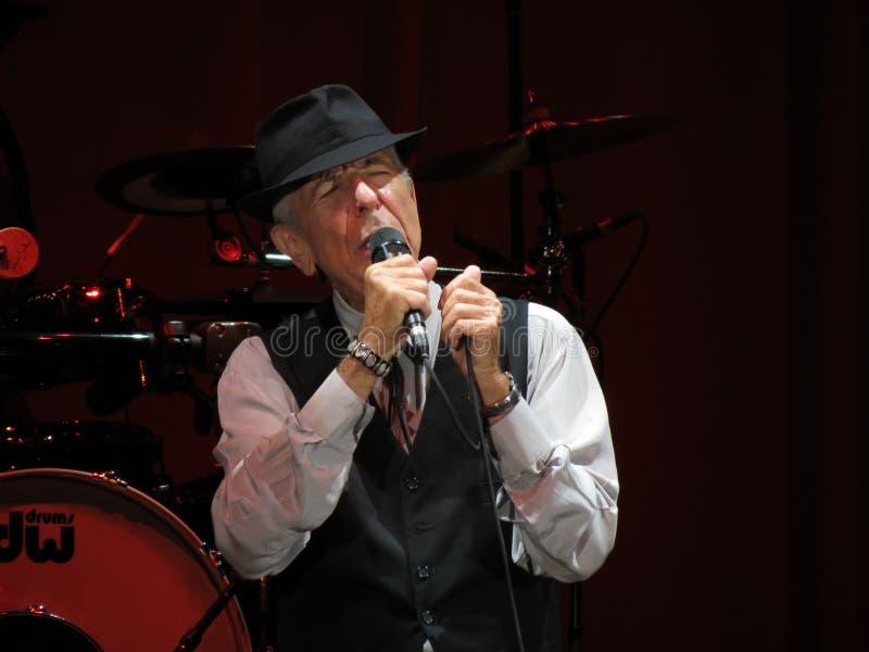 Leonard Cohen (Luca 2013) royalty-vrije stock fotografie