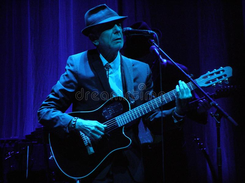 Leonard Cohen performs in Florence 1.IX.2010