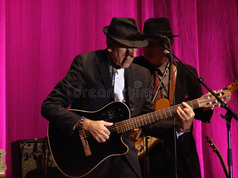 Leonard Florencja Cohen - 2010 Fotografia Editorial