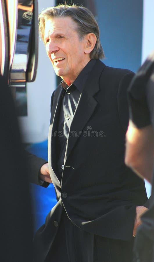 Leonard Nimoy royalty-vrije stock foto's