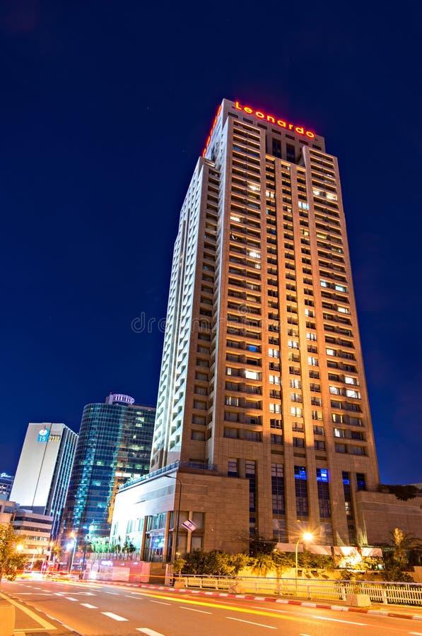 Leonardo旅馆,拉马干,以色列 免版税库存图片