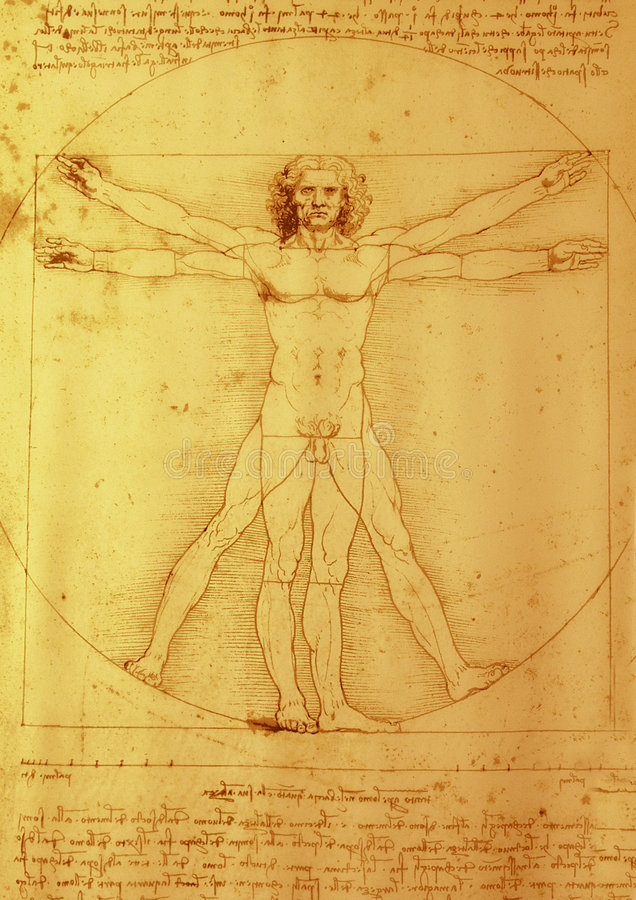 Leonardo Da Vinci fotos de archivo