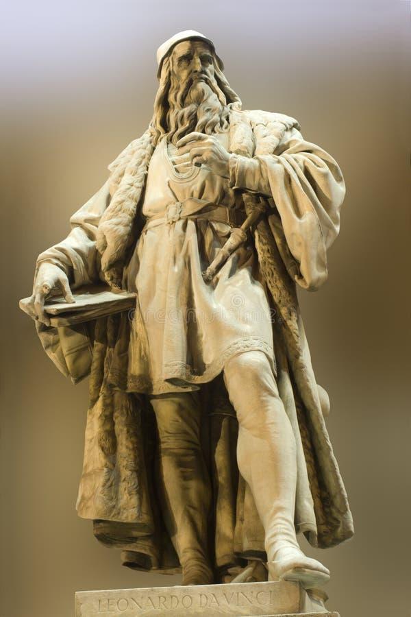 Leonardo Da Vinci stockfoto