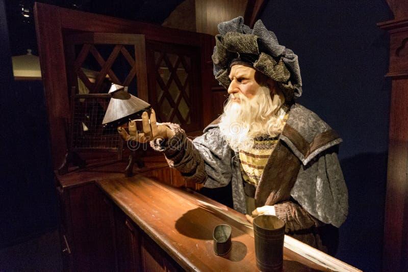 Leonardo Da Vinci lizenzfreies stockfoto