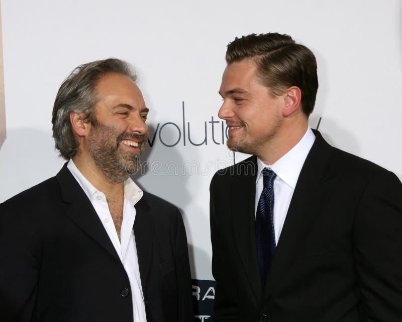 Leonardo Dicaprio,山姆Mendes 库存照片