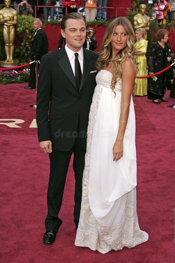 Leonardo DiCaprio, Gisele Bundchen στοκ φωτογραφίες