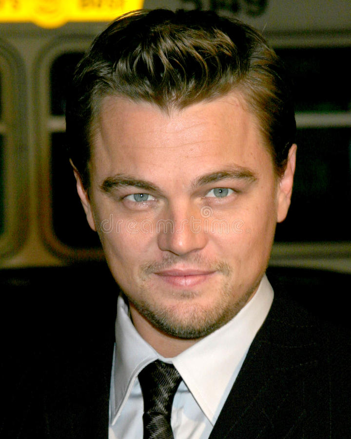 Leonardo DiCaprio. Blood Diamond Premiere Grauman's Chinese Theater Los Angeles, CA December 6, 2006 royalty free stock photography