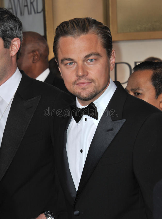 Leonardo DiCaprio. At the 69th Golden Globe Awards at the Beverly Hilton Hotel. January 15, 2012 Beverly Hills, CA Picture: Paul Smith / Featureflash stock photos