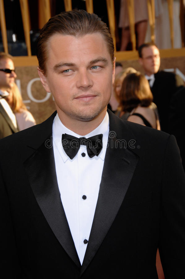 Leonardo DiCaprio. At the 64th Annual Golden Globe Awards at the Beverly Hilton Hotel. January 15, 2007 Beverly Hills, CA Picture: Paul Smith / Featureflash royalty free stock photography