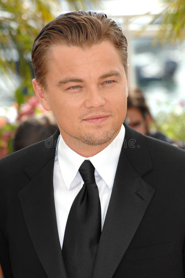 Leonardo DiCaprio. At photocall for his movie The 11th Hour at the 60th Annual International Film Festival de Cannes. May 19, 2007 Cannes, France. 2007 Paul stock photo