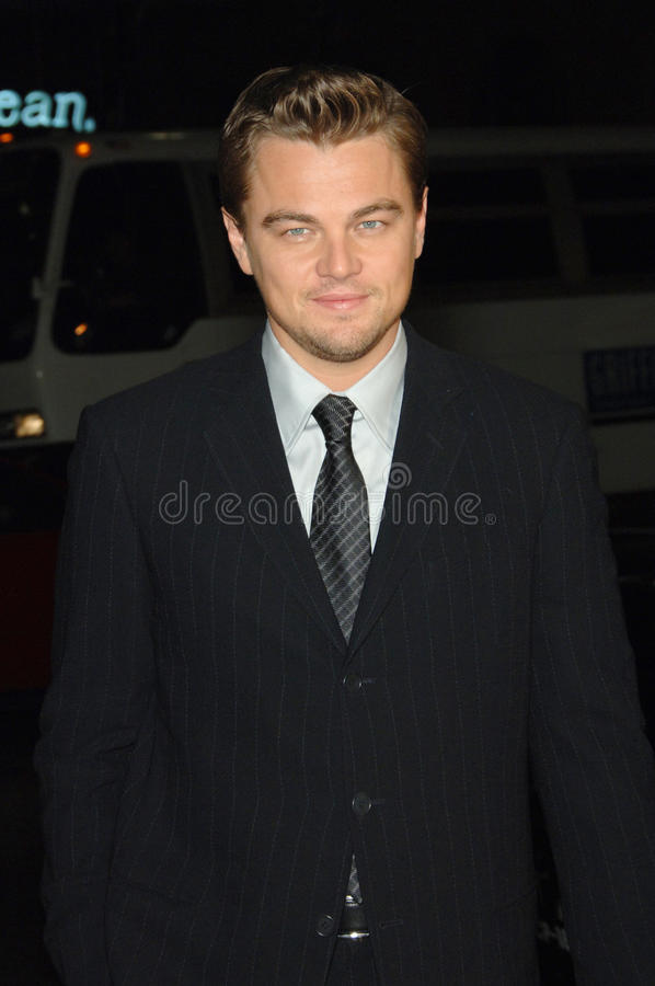 Leonardo DiCaprio. At the Los Angeles premiere of his new movie Blood Diamond at Grauman's Chinese Theatre, Hollywood. December 6, 2006 Los Angeles, CA Picture stock images