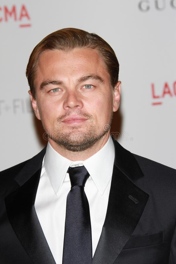 Leonardo DiCaprio. At the LACMA Art + Film Gala Honoring Clint Eastwood and John Baldessari, LACMA, Los Angeles, CA 11-05-11 royalty free stock photography