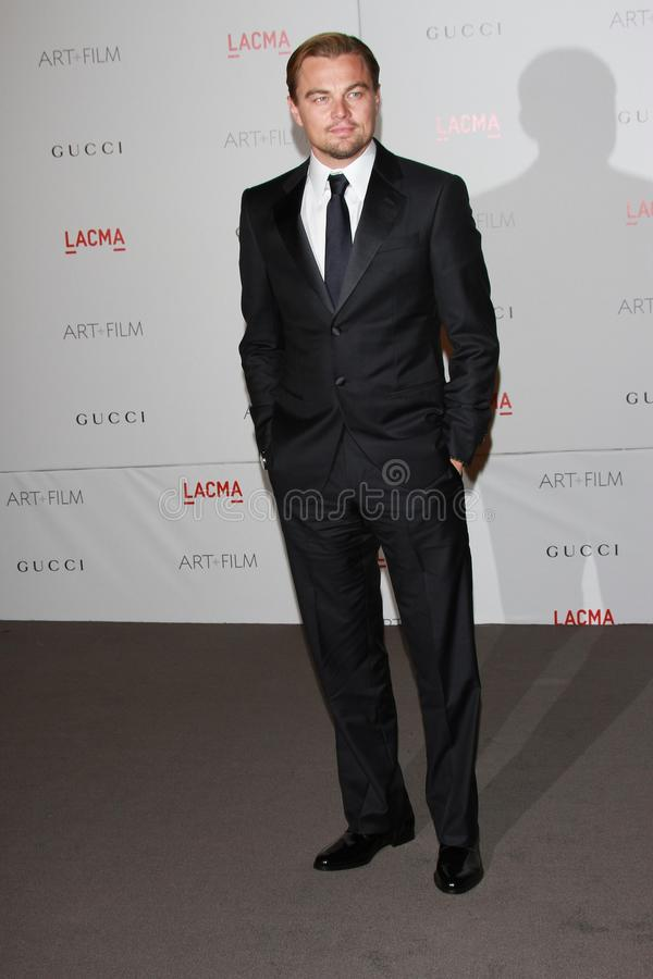 Leonardo DiCaprio. At the LACMA Art + Film Gala Honoring Clint Eastwood and John Baldessari, LACMA, Los Angeles, CA 11-05-11 stock photography