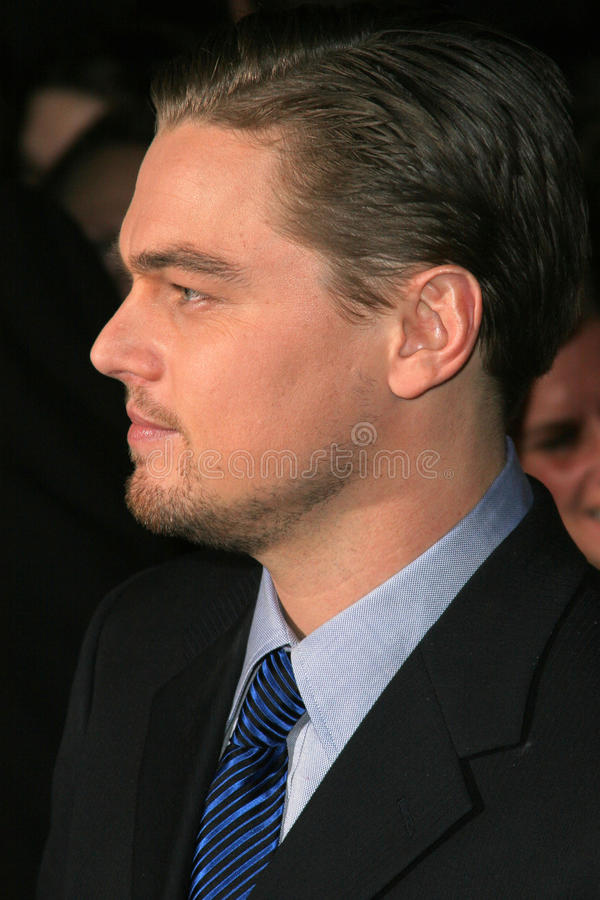 Leonardo DiCaprio photos stock