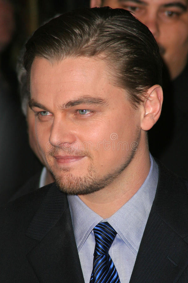 Leonardo DiCaprio photo stock