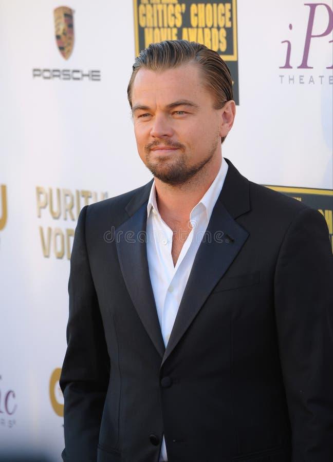Leonardo diCaprio obraz stock