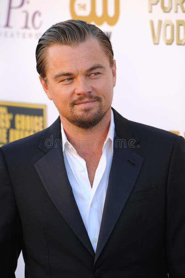 Leonardo diCaprio zdjęcie royalty free