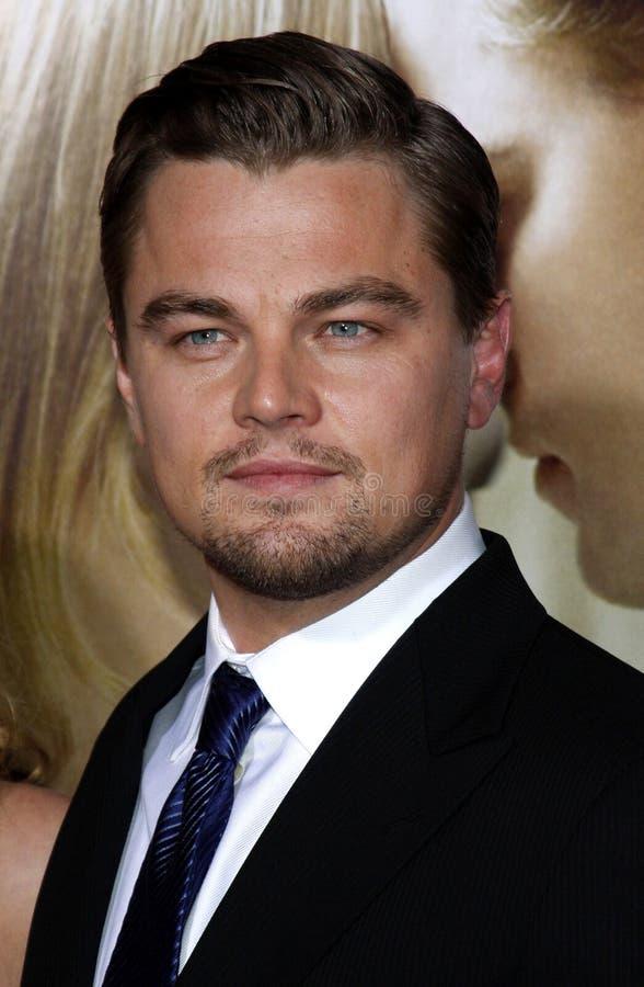 Leonardo DiCaprio photographie stock