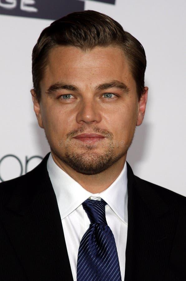Leonardo DiCaprio 图库摄影