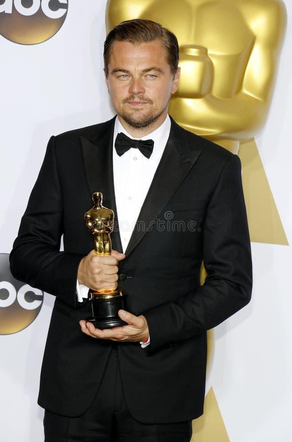 Leonardo DiCaprio fotografía de archivo libre de regalías