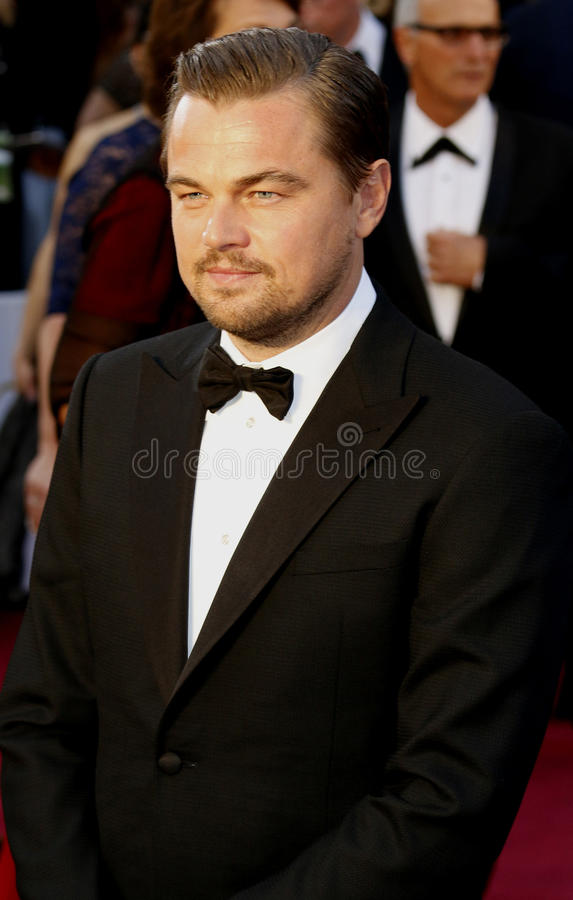 Leonardo diCaprio fotografia royalty free