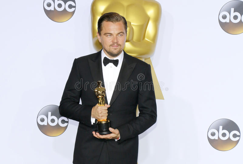 Leonardo DiCaprio 免版税图库摄影