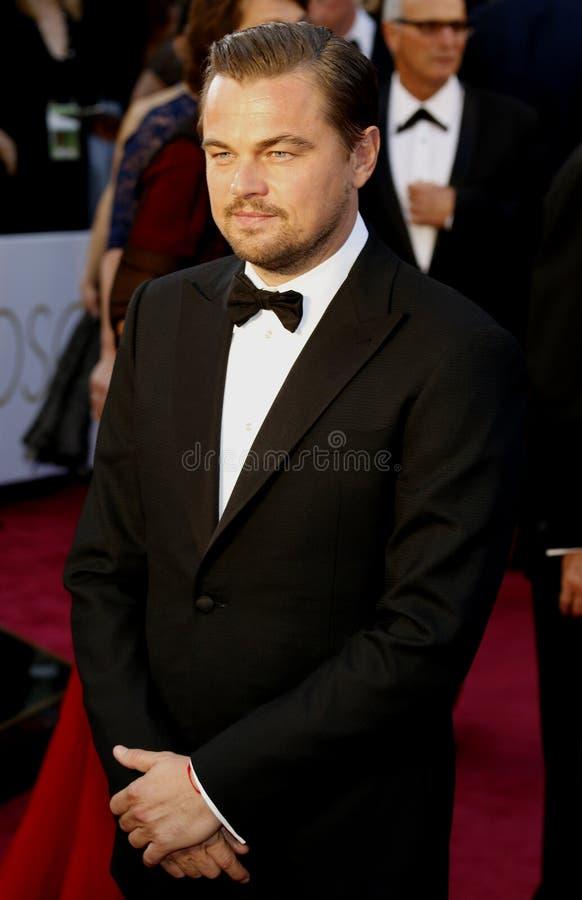 Leonardo DiCaprio photographie stock libre de droits