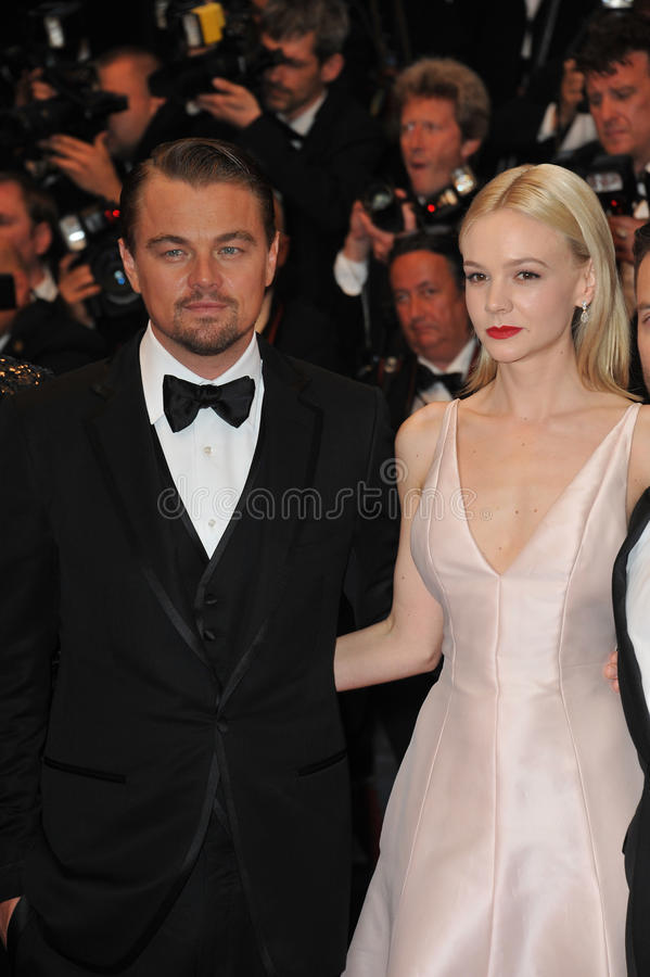 Leonardo DiCaprio et Carey Mulligan photo libre de droits