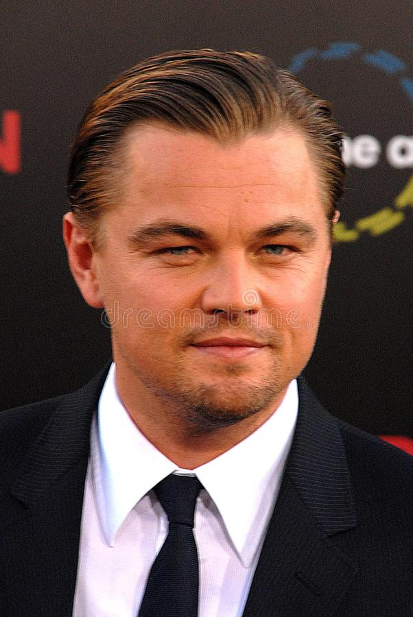 Leonardo DiCaprio. At the 'Inception' Los Angeles Premiere, Chinee Theater, Hollywood, CA. 07-13-10 royalty free stock photo