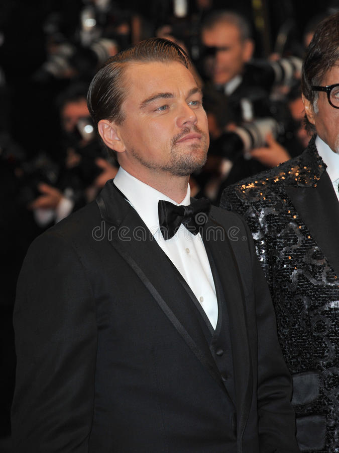 Leonardo DiCaprio. At the premiere of his movie 'The Great Gatsby' the opening movie of the 66th Festival de Cannes. May 15, 2013 Cannes, France Picture: Paul stock photo