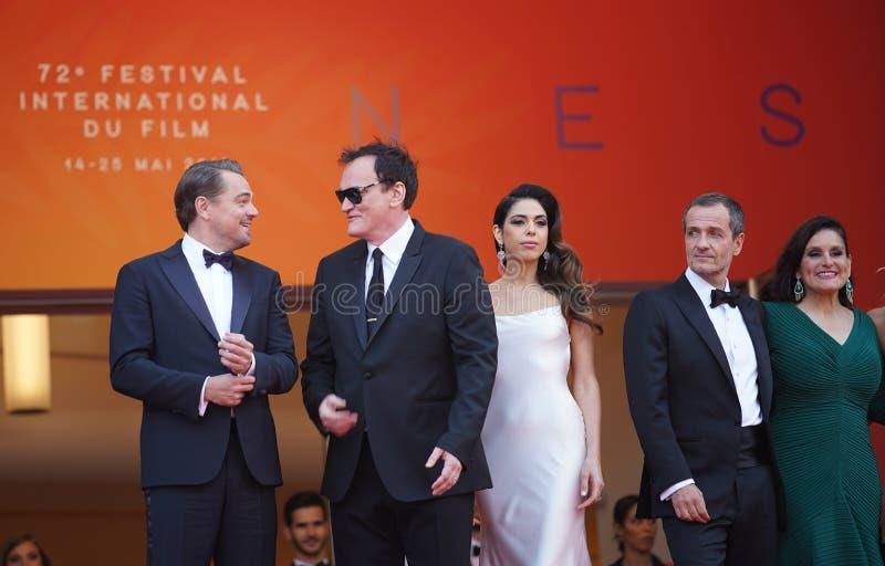 Leonardo DiCaprio, Quentin Tarantino zdjęcie royalty free