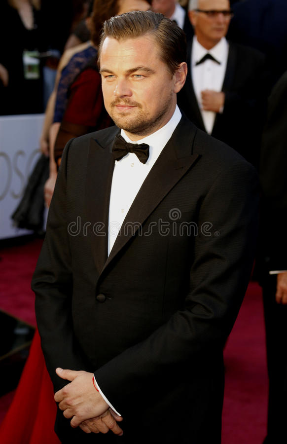 Leonardo DiCaprio. At the 88th Annual Academy Awards held at the Hollywood royalty free stock photography