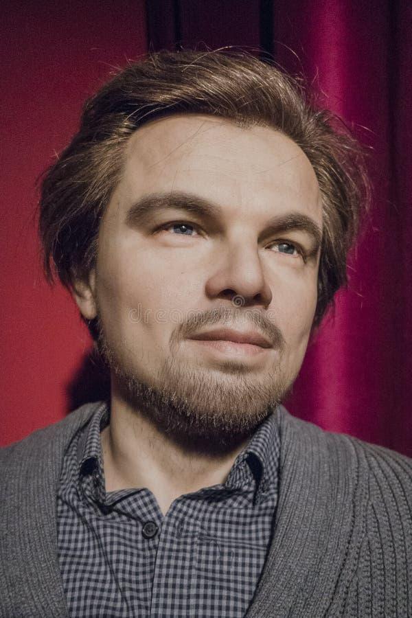 Leonardo DiCaprio Wax Figure images stock